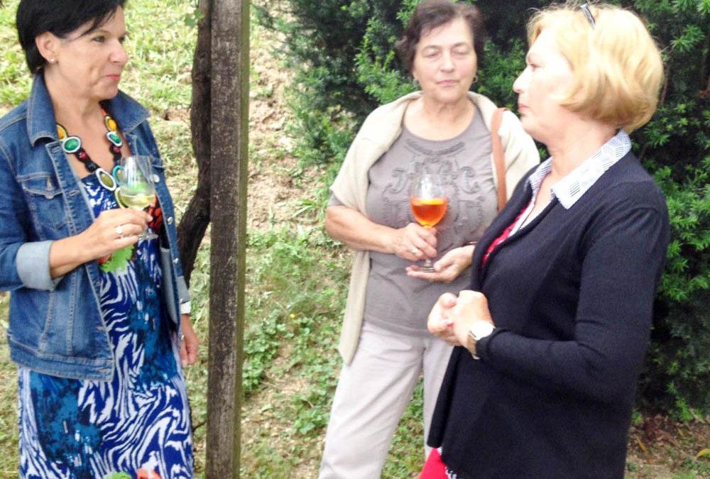 Sommerfest bei unserer Präsidentin Anni Fürnholzer in Kitzeck