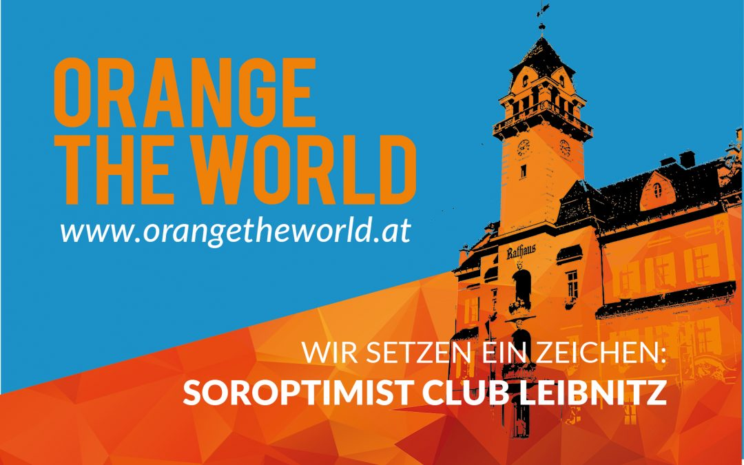 Orange the World – 25.11.2018 Rathaus Leibnitz