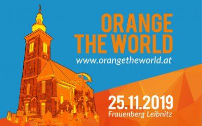 Orange the World – 25.11.2019 Frauenberg Leibnitz
