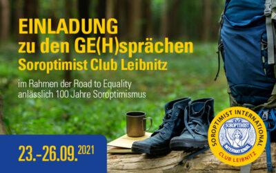 Einladung zu GE(H)sprächen. Wir feiern 100 Jahre Soroptimismus
